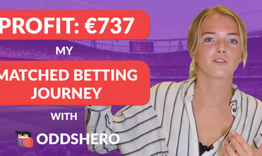 My Matched Betting Journey with Oddshero Week 4