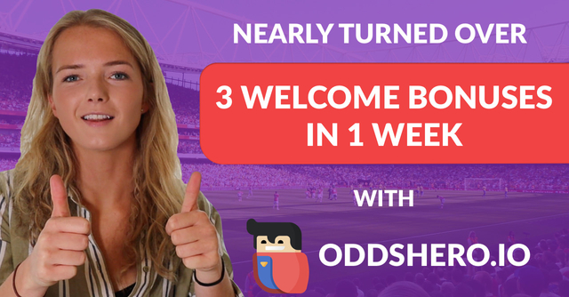 My Matched Betting Journey with Oddshero Week 2