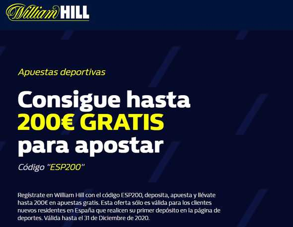 William Hill sIGNUP BONUS